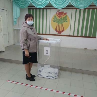 Соль-илечане активно проголосовали в первый день проведения выборов